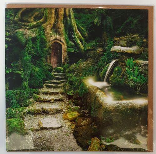 Card - Entrance to Rivendell